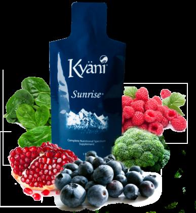 Kyani Sunrise Healthy superfoods