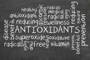 Antioxidants on a blackboard