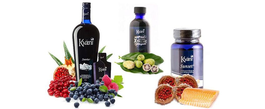 Kyani supplement range